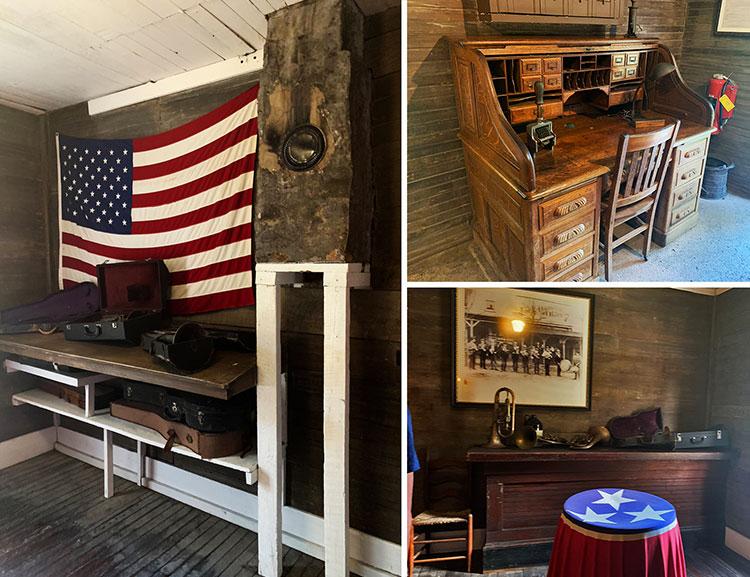 Casa de Jack dentro da destilaria