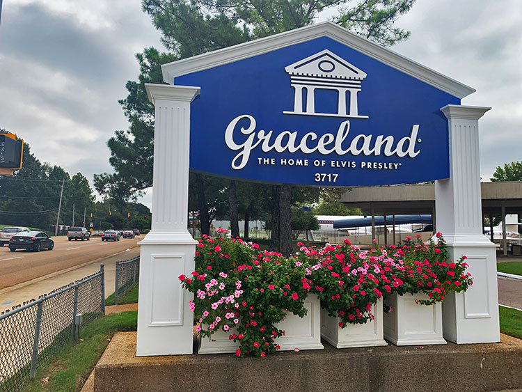 Graceland em Memphis