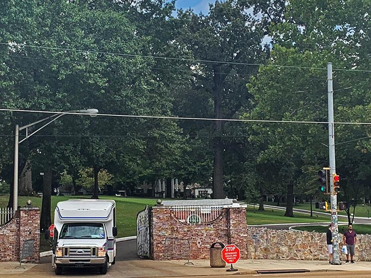 Portão de Graceland em Memphis