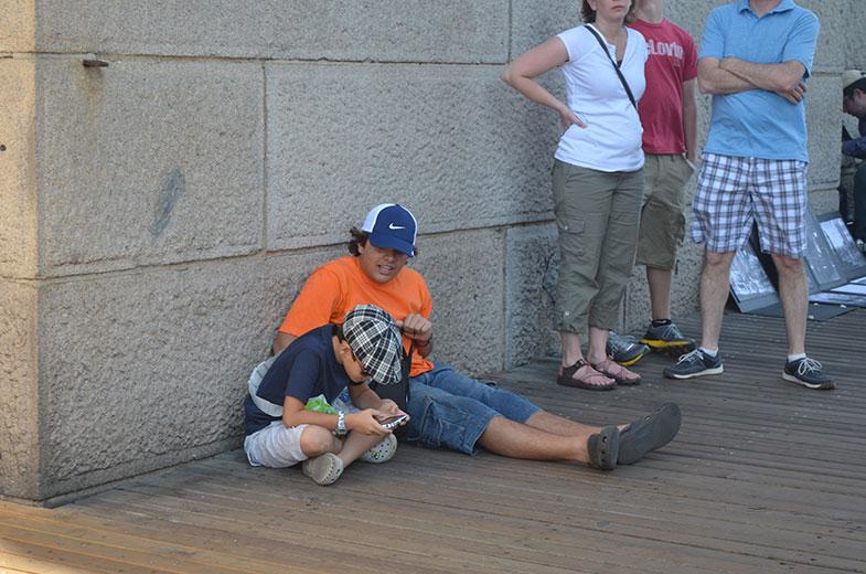 Descanso na Brooklyn Bridge