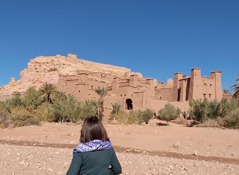 Paisagens pelas estradas no Marrocos