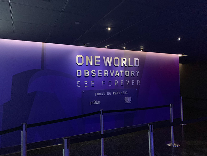 Como é a visita ao One World Observatory em New York