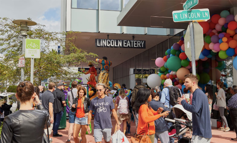 Mercado gastronômico em Miami: Lincoln Eatery