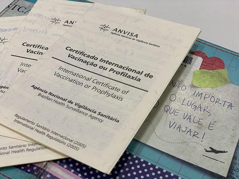 Certificado Internacional de Vacinação: emissão online