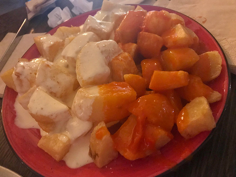Comidas típicas da Espanha Bracioli