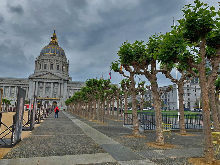 Civic Center Plaza em San Francisco