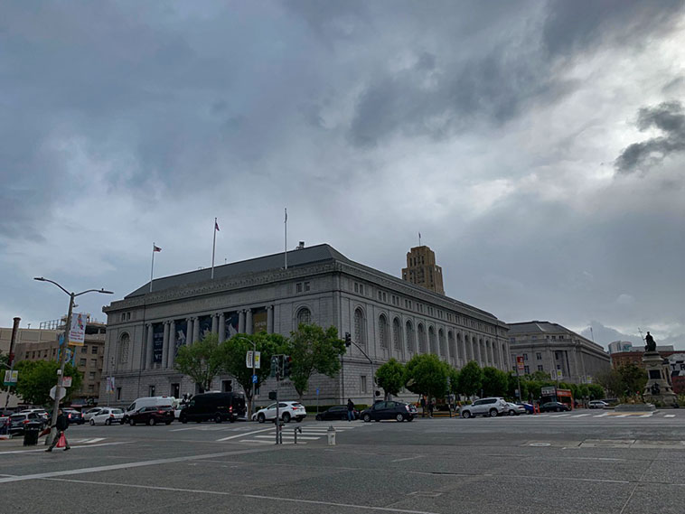 Asian Art Museum no Civic Center San Francisco