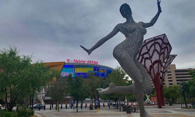 Parque em Las Vegas em plena Strip – The Park