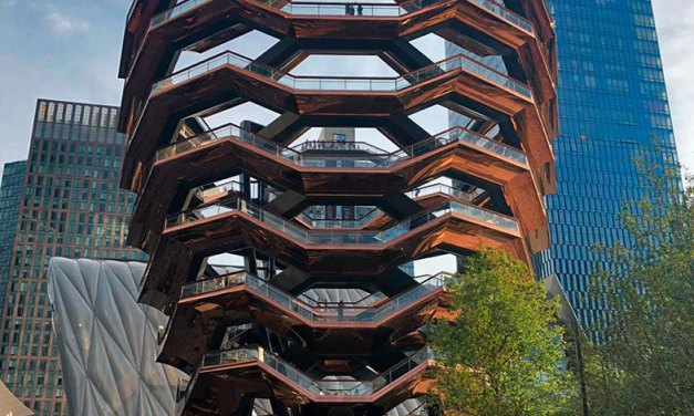 The Vessel no Hudson Yards em New York
