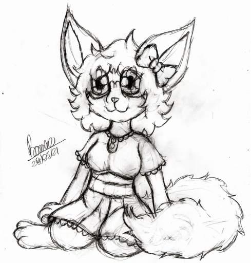 Primeiro desenho da Ruby refeito