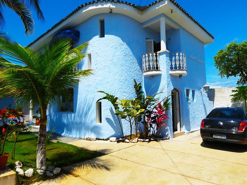 Estacionamento da Pousada Canto Azul Praia de Pernambuco Guaruja SP