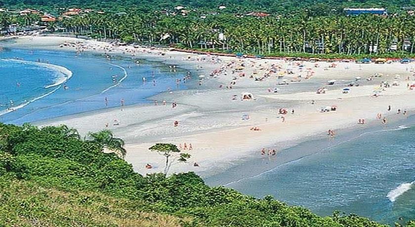 Praia de Pernambuco e Mar Casado