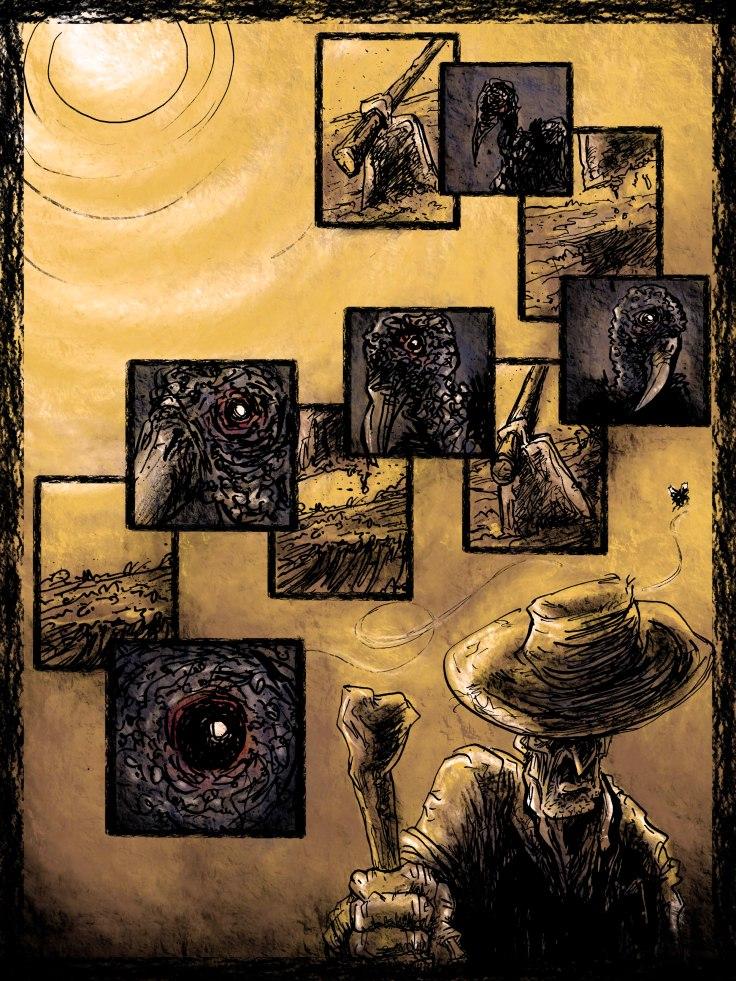 Marcel Bartholo - Página - Carniça Quadrinhos - Cando do Gargula