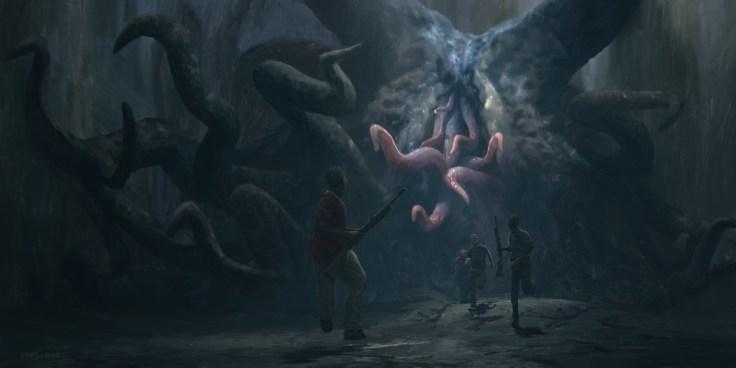 Richard Wright - CMON - Cthulhu - Sewer Monster - Canto do Gargula