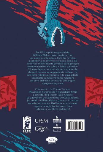 O Matrimonio de Céu e Inferno - Eneias Tavares - Fred Rubim - AVEC Editora - Canto do Gargula