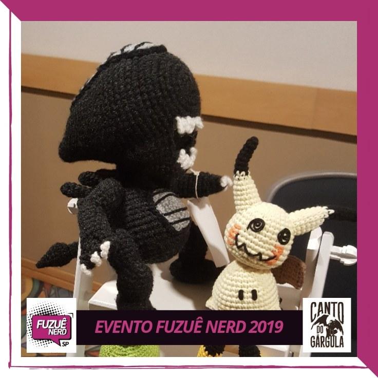 Fuzuê Nerd - Alien de crochet - Canto do Gárgula