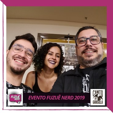 Fuzuê Nerd - Lígia Colares - AVEC Editora - Canto do Gárgula