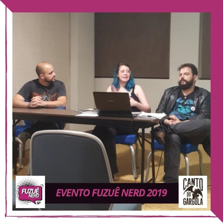 Fuzuê Nerd - Workshop - Canto do Gárgula