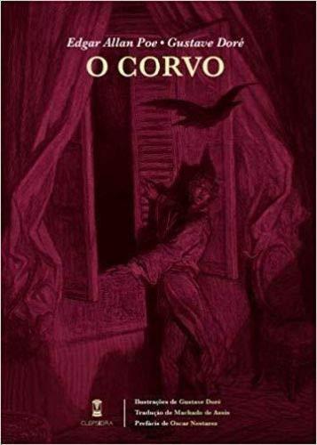 O Corvo - Edgar Allan Poe - Sebo Clepsidra - Canto do Gárgula