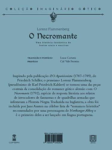 O Necromante - Lorenz Flammenberg - Editora Sebo Clepsidra - Canto do Gárgula
