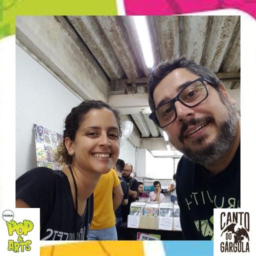 2a Feira Pop & Art 2020 - Lígia Colares - AVEC Editora - Canto do Gárgula
