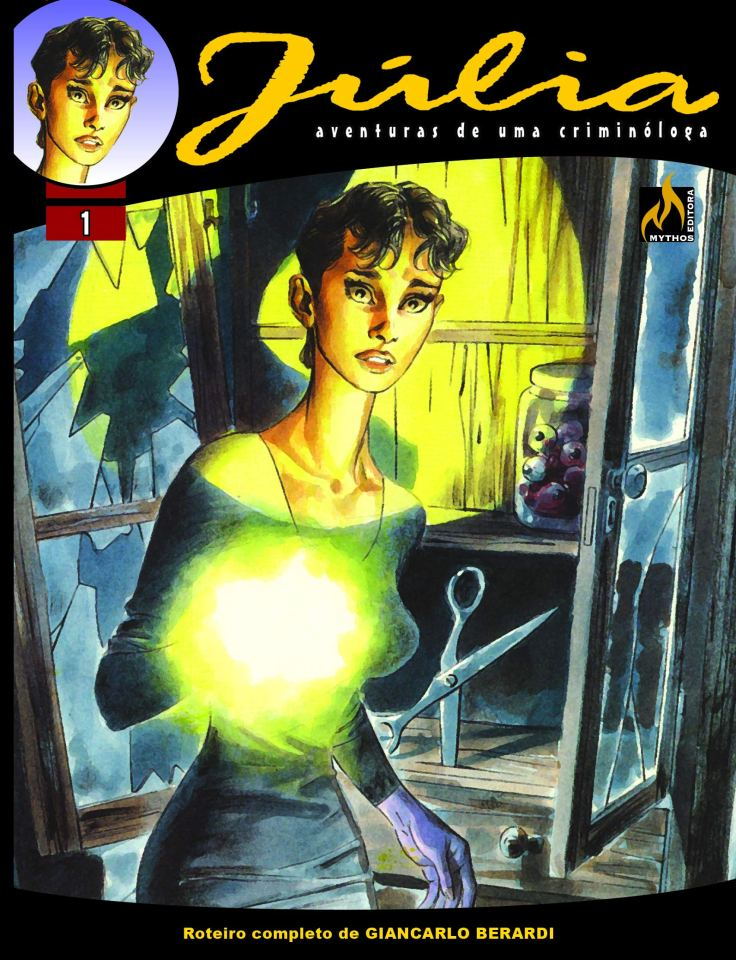 Júlia Vol 1 - Os Olhos Do Abismo - Mythos Editora - Canto do Gárgula