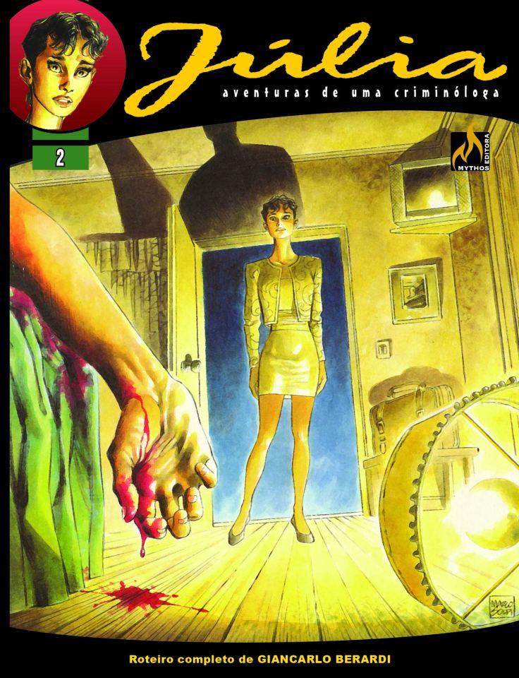 Júlia Vol 2 - Objeto de Amor - Mythos Editora - Canto do Gárgula