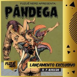 Pândega - Skript Editora - Canto do Gárgula