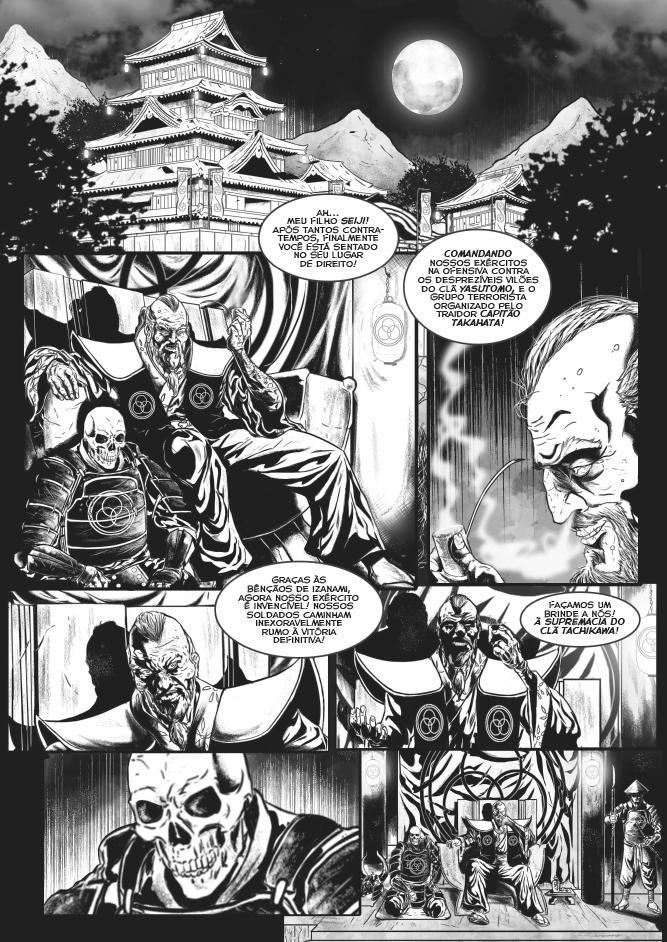 Shogum dos Mortos - Daniel Werneck - Draco Editora - Canto do Gárgula
