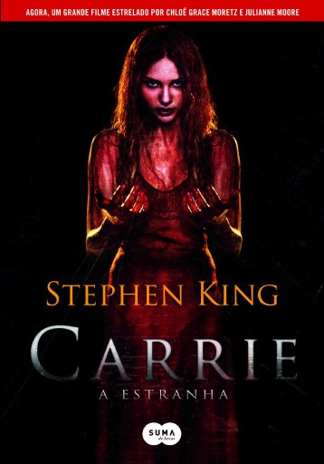 Carrie a Estranha - Stephen King - Editora Suma - Canto do Gárgula