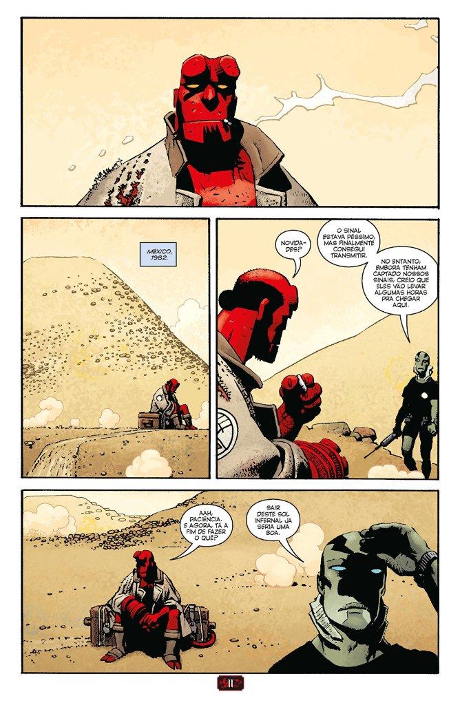 Hellboy no México - Mike Mignola - Mythos Editora - Canto do Gárgula