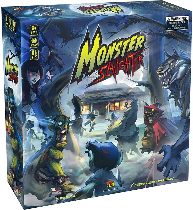 Monster Slaughter - Ankama Games - Boardgame - Canto do Gárgula