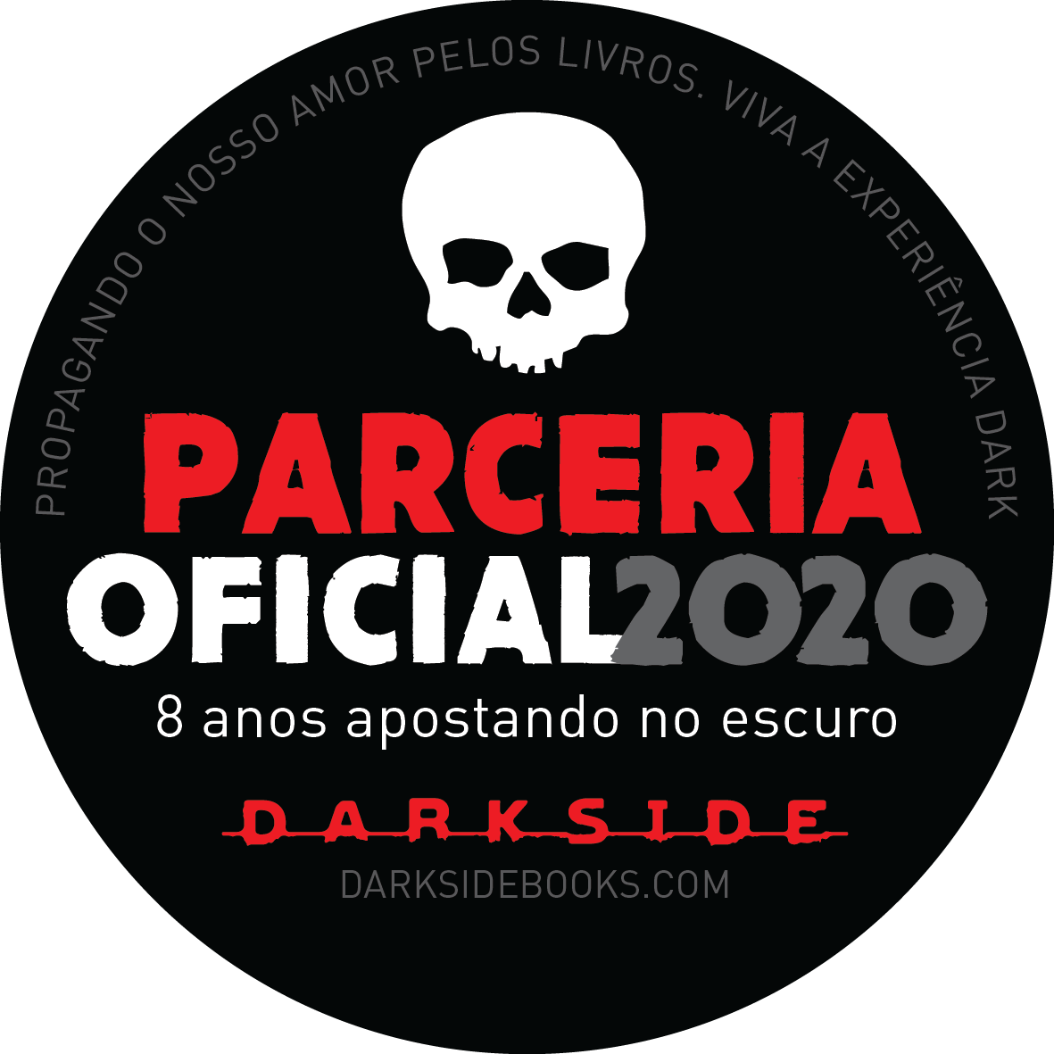 Selo Parceria - DarkSide Books - Canto do Gargula - 2020