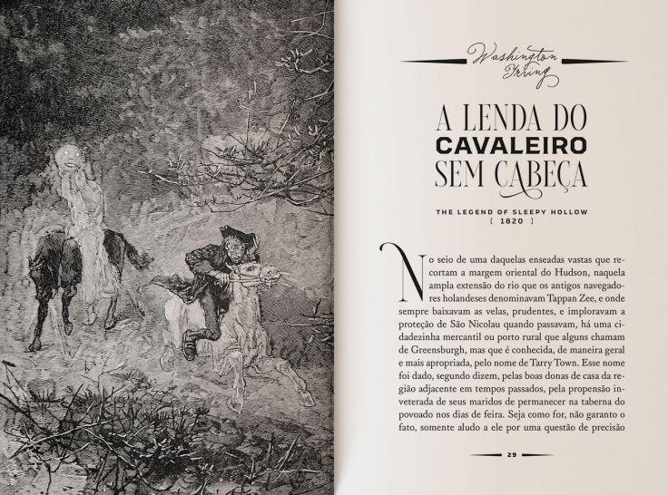 A Lenda do Cavaleiro Sem Cabeça - Washington Irving - Editora Wish - Canto do Gárgula
