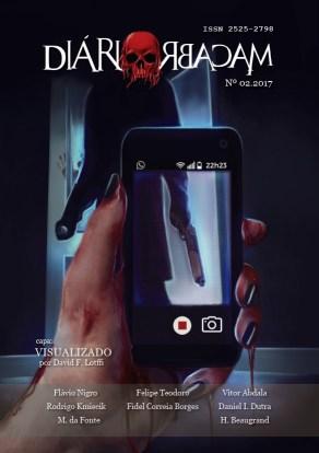 Revista Diário Macabro n2 - Editora Diário Macabro - Canto do Gárgula