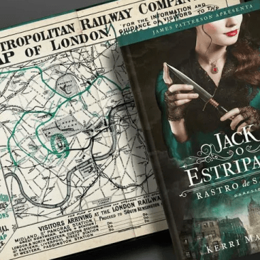 Rastro de Sangue - Jack o estripador - Kerri Maniscalco - Darkside Books