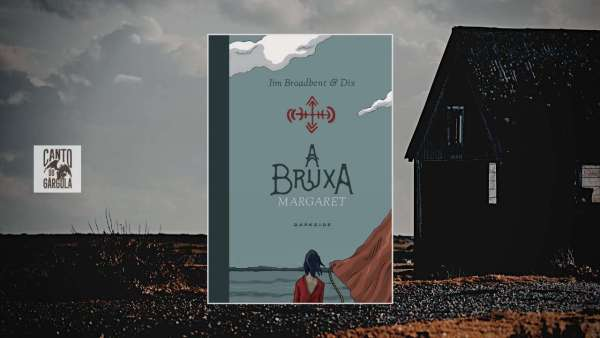 A bruxa Margaret - Jim Broadbent - Dix - Darkside Books