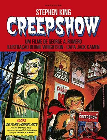 Creepshow - Stephen King - Darkside Books - Canto Delas - Déborah Araújo