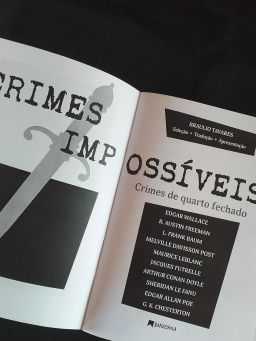 Crimes Impossíveis - Bráulio Tavares - Editora Bandeirola