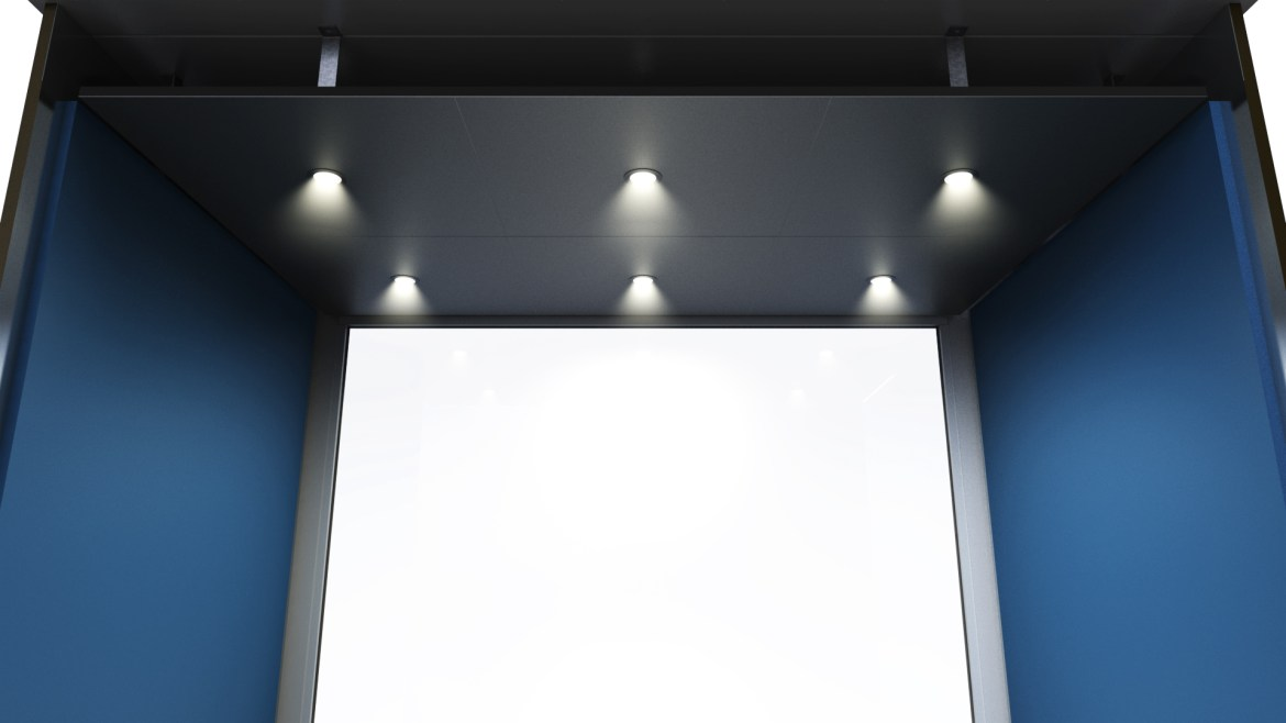 CE-1519 Ceiling View