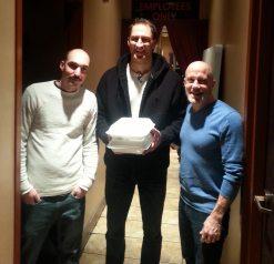 Hartford Funny Bone with Tom Daddario, Ben Bailey and his to-go food