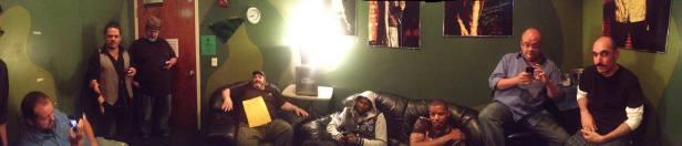 Richmond Funny Bone Green Room