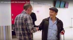 Rob Schneider and Nick (Real Rob clip)