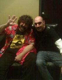 Syracuse Funny Bone with 3 time WWE Champion Mick Foley