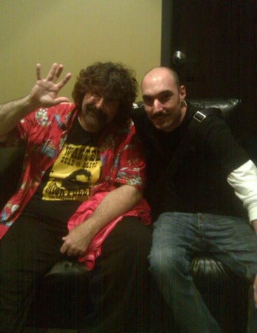 Syracuse Funny Bone with 3-time WWE Champion Mick Foley