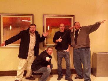 Team Bone at Comedy Zone in WV