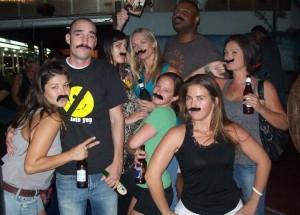 Nick, Ladies, Mustaches
