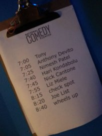 National Comedy Center Show at New York Comedy Club