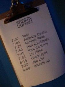 National Comedy Center Show at New York Comedy Club