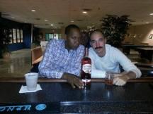 Nick Hangin with Mr. Cooper at Liberty Laughs (Fredericksburg, VA)